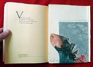 Poetas y grabadores: Obra realizada en adhesión: ARTAUD, APOLLINAIRE, BATAILLE,