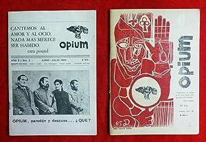 BEATNIKS) - Revistas OPIUM Nº 2 y: Aníbal Machado, Boris