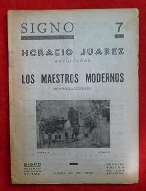 FUTURISMO): Revista SIGNO, Nº 7, 22 de: Leonardo Estarico, Ardengo