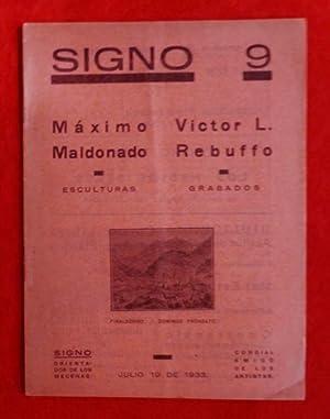 Revista SIGNO, Nº 9, 19 de Julio: Leonardo Estarico, Emilio