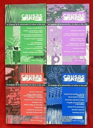 Revista CAUSAS Y AZARES - Los lenguajes: Carlos Mangone, Mariano