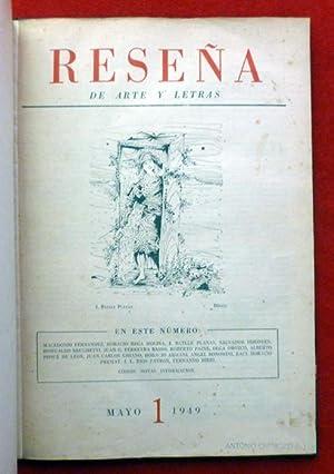 REVISTA RESEÑA de Artes y Letras. Colección: Vicente Barbieri, Macedonio