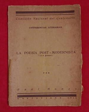 FUTURISMO): La poesía post-modernista: Juan Parra del Riego; Ildefonso Pereda Valdez; [...