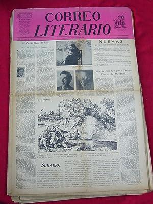 CORREO LITERARIO: Periódico quincenal. (Buenos Aires). 1943-1945.: Directores: Arturo Cuadrado,