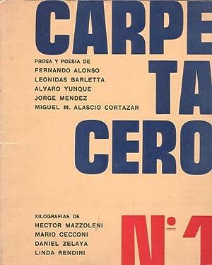 CARPETA CERO. Nº 1: ALASCIO CORTAZAR, Miguel