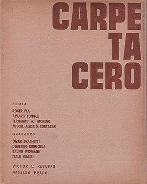 CARPETA CERO. Edición especial. Nos. 2-3: ALASCIO CORTAZAR, Miguel
