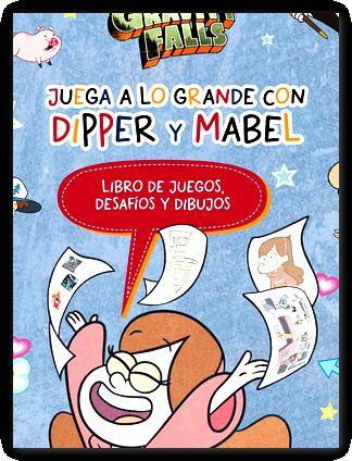 gravity falls juega a lo grande con dipper y mabel -Libro- - Disney Publishing Worldwide