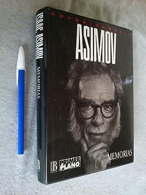 Memorias - Isaac Asimov (autobiografía) Tapa Dura: Isaac Asimov