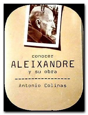 antonio colinas conocer vicente aleixandre y su: Antonio Colinas