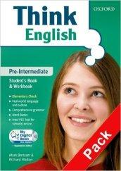 Think English. Pre-intermediate. Entry book-Student's book-Workbook-Culture book-My: Bartram, Mark; Walton,