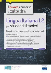 Lingua Italiana L2 per studenti stranieri: Manuale: E. Lugarini, V.