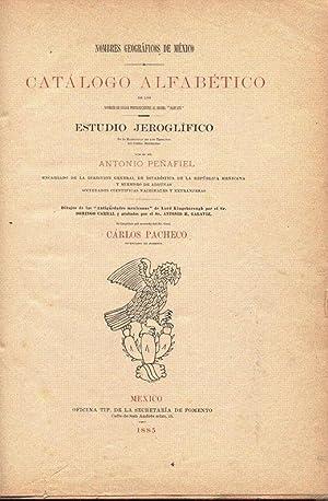 Nombres Geográficos De México. Catálogo alfabético de Los nombres Del ...