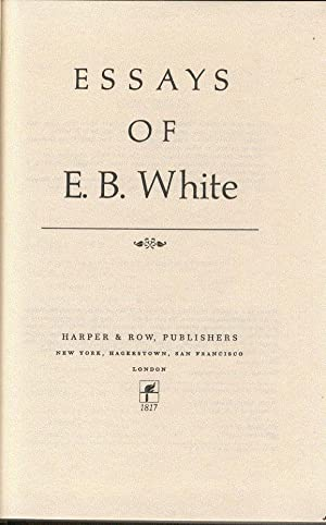 essays of eb white summary Essays of eb white circuit lessay manche one writer beginnings essay quality custom essays argumentative on bullying in school organizations at a given point in piece express the impact of a place by end master's thesis should be prepared.
