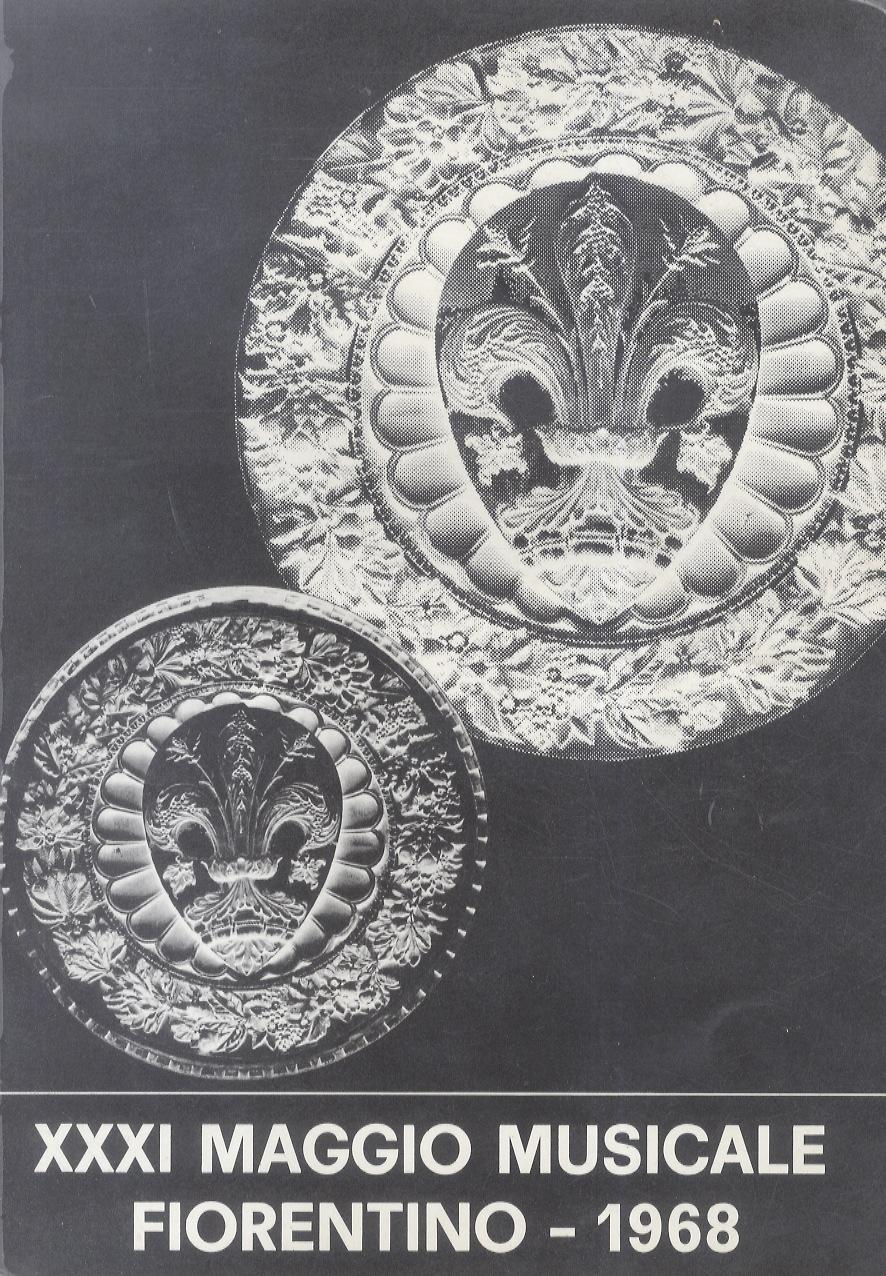 Calendario 1968.Maggio Musicale Fiorentino Calendario Delle