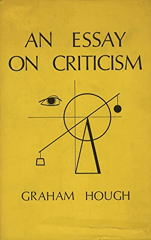 An Essay on Criticism.