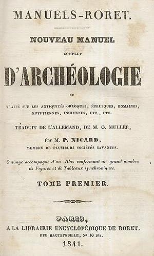 Nouveau manuel complet d'archéologie ou traité sur: Muller O.