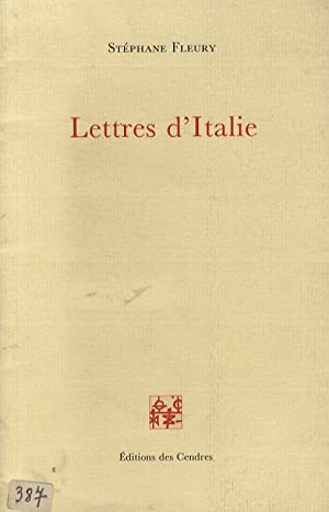 Lettres d'Italie.