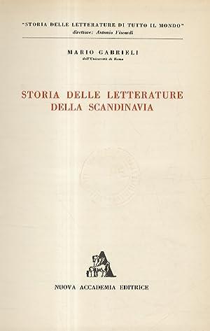 Storia delle letterature della Scandinavia.: Gabrieli Mario.