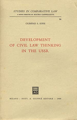 Development of civil law thinking in the USSR.