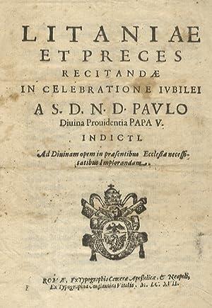 LITANIAE et preces recitandae in celebratione iubilei