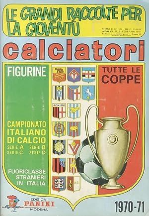 ALBUM figurine Panini, calciatori. Campionato 1970-71.