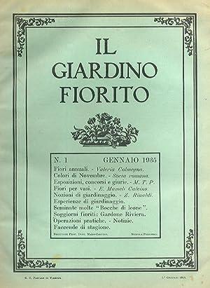 Giardino (Il) Fiorito. Rivista mensile della Società