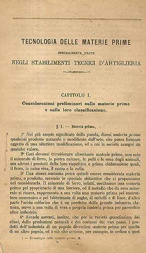 Corso di nozioni fisico-chimiche e di materie: PARONE Serafino.