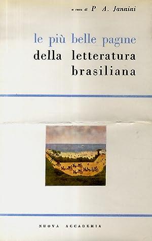 Le più belle pagine della letteratura brasiliana.: JANNINI Pasquale Aniel