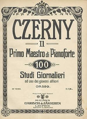 Il Primo Maestro di Piano. 100 Studi: CZERNY Carl.