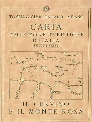 Carta delle zone turistiche d'Italia: Il Cervino: TOURING CLUB ITALIANO.