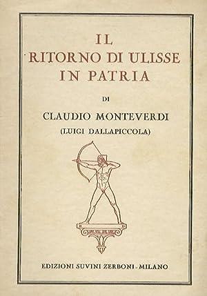 Il ritorno di Ulisse in patria. Dramma: MONTEVERDI Claudio -