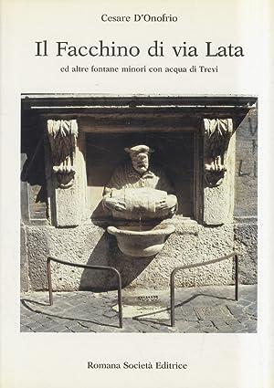 Il Facchino di Via Lata ed altre: D'ONOFRIO Cesare.