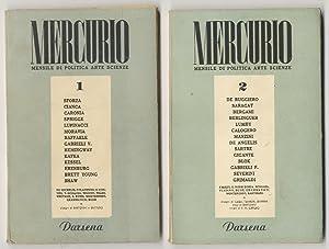 Mercurio. Mensile di politica, arte scienze. Anno