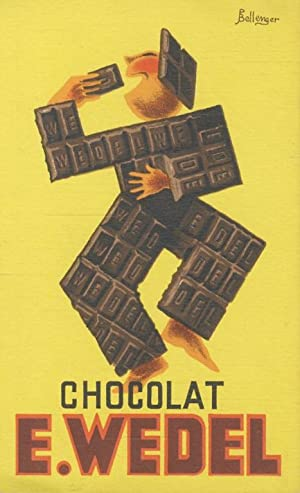 Chocolat E. Wedel. Paris, Exposition Internationale 1937. Pavillon de la Pologne.