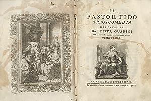 Delle opere] I: il Pastor Fido, tragicomedia: Guarini G.B.