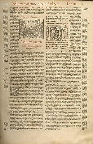Infortiatum (qui secundus est Digestorum tomus) in: CORPUS IURIS CIVILIS].
