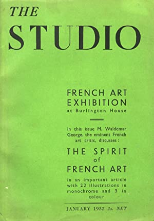 STUDIO (THE). An illustrated magazine of fine and applied art. Edited by Geoffrey Holme. N. 466. ...