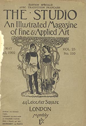 STUDIO (THE). An illustrated Magazine of fine & applied art. Vol. 25, n. 110. May 15, 1902. Editi...