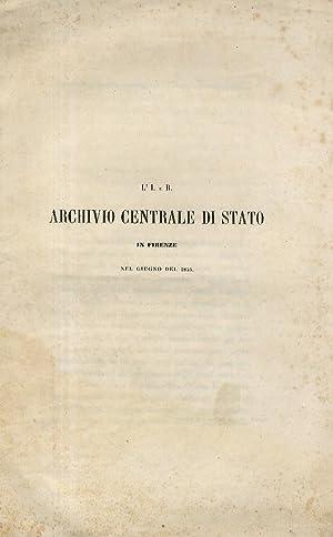 I. (L') e R. Archivio Centrale di