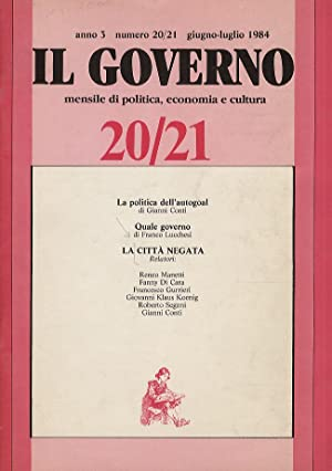 CITTA' (LA) negata. Relatori: Renzo Manetti, Fanny