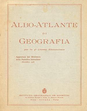 Albo-Atlante di Geografia per la 4a Classe: VISINTIN Luigi.