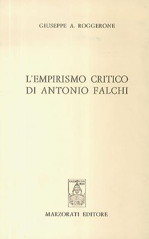 L'empirismo critico di Antonio Falchi.: Roggerone Giuseppe A.