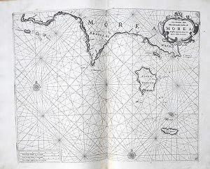 Carta Maritima della Meridionale Costa di Morea: LEVANTO Francesco Maria