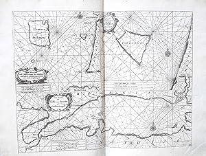 Carta maritima dell'Isola Lemnos hora Stalimene [.];: LEVANTO Francesco Maria