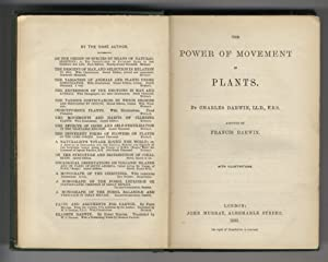 The power of movements in plants. By Charles Darwin, assisted by Francis Darwin [.].