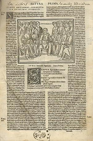 Iu. Iuvenalis Aquinatis Satyrographi Opus. Interprete Ioanne: Iuvenalis D.I.