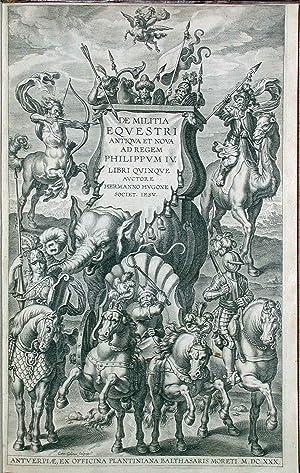 De militia equestri antiqua et nova. Ad: Hugone Hermano (S.J.).