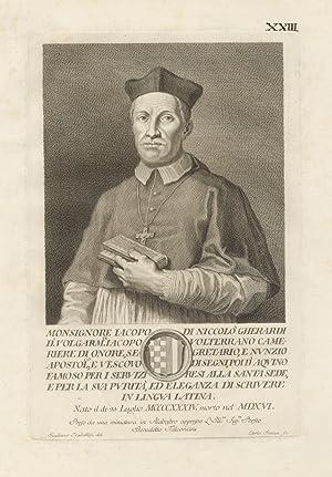 Monsignore Iacopo di Niccolò Gherardi d.o volgamente: TRABALLESI Giuliano [disegnatore]