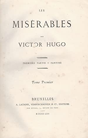 Les Miserables [.].: Hugo V.