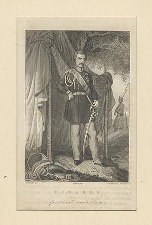 Durando. Generale dell'armata Sarda. (Ritratto a figura: RISORGIMENTO - MILITARIA